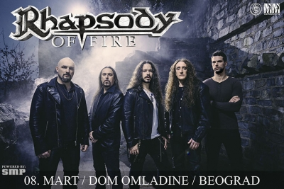 Rhapsody of Fire - 8. Mart 2020 - Dom Omladine, Beograd